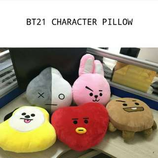 (PREORDER)Bt21 Character Pillow