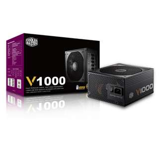 Cooler Master V1000 80 PLUS GOLD FULL MODULAR  1000W V1000W Coolermaster