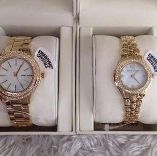 Anne Klein Authentic Watch Swarovski