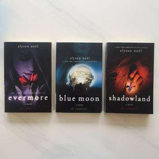 The Immortals Series - Evermore, Blue Moon, Shadowland