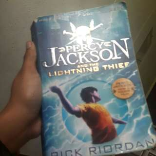 Percy jackson book lightning thief #Huat50sale