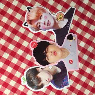BTS AND GOT7 STICKERS