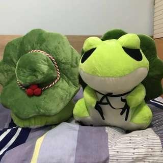 旅行青蛙 靚靚版 25cm現貨 只有10隻