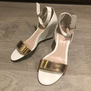 Charles and Keith mid heel sandals for sale!