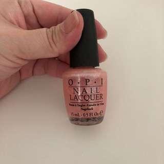 OPI Princess Rule - Pink Glitter Nail Colour