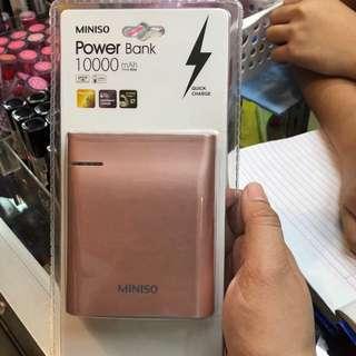 Miniso Power bank (10000mah)