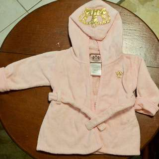 Authentic Juicy Couture Baby Bath Robe