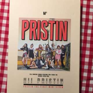 PRISTIN ALBUM+PHOTOCARD+STICKERS