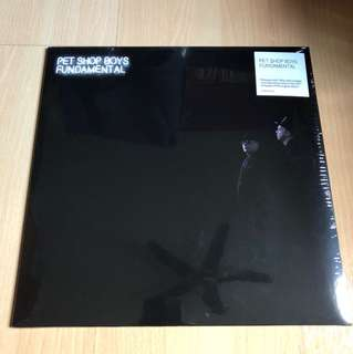 Pet shop boys fundamental lp