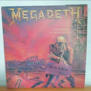Peace Sells But Who's Buying Megadeth Vinyl Record LP