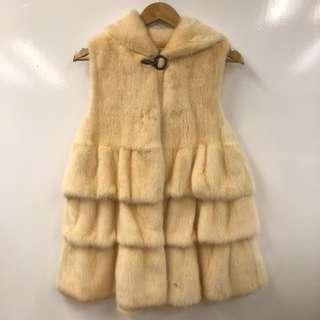 Saga Furs mink vest jacket size 36