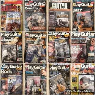 Guitar magazines (12)