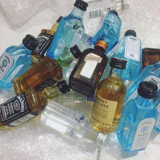 Miniature alcohol 100%original