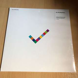 Pet shop boys yes lp