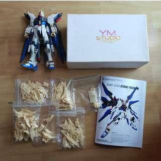 MG Strike Freedom Gundam + YM Studio resin conversion kit