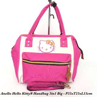 Tas import Wanita Anello Handbag Hello Kitty 3in 1 Big - 10