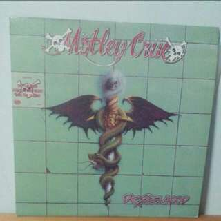 Dr Feelgood Motley Crue Vinyl Record LP