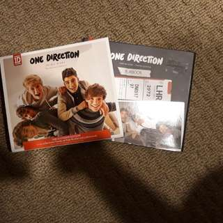 1D Up All Night: Souvenir Edition & Take Me Home: Yearbook Edition Bundle