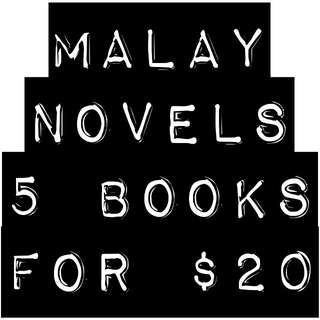 Malay Novels/Books *BUNDLE SALE*
