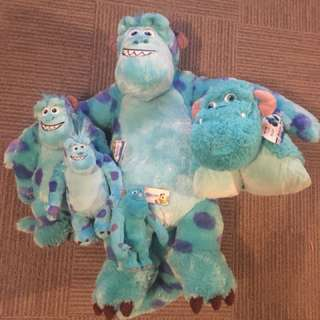 Large Plush Sulley Collection