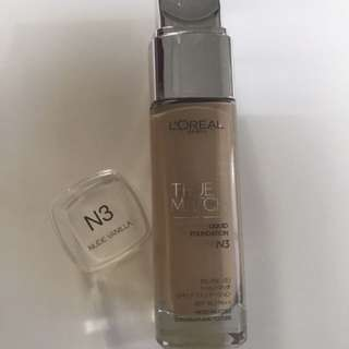 L'oreal True Match Foundation-N3