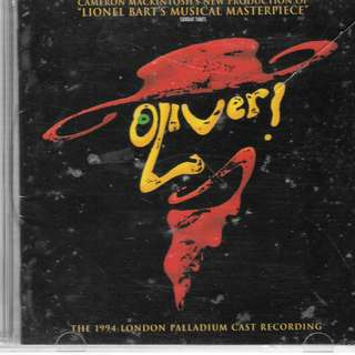 MY CD - OLIVER  MUSIC FROM - PERFORMED BY LONDON PALLADIUM CAST RECORDING 1994