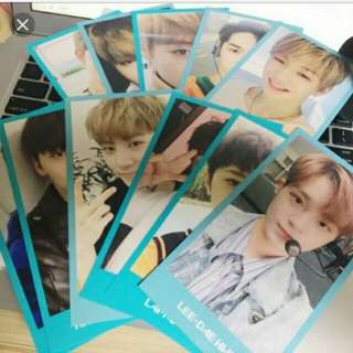Wanna One membership photocard