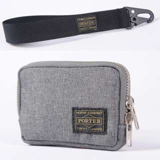 💥CHEAPEST - $13 OFFER - Porter Coin Card Pouch With Wrist Strap 2 in 1 Set