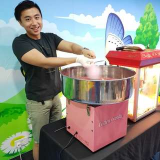 Popcorn Machine &  Candy Floss rental & service