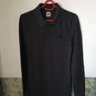 #Huat50Sale ASOS XXS Grey Long Sleeved Polo