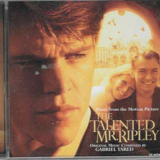 MY CD- OST OF THE TALENTED MR.RIPLEY - FREE DELIVERY