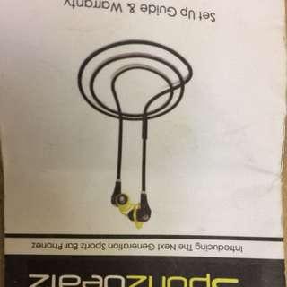 Sportz beatz Bluetooth headphones