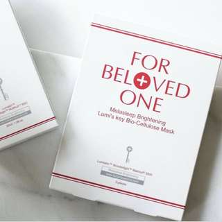 For Beloved one MELASLEEP WHITENING BIO-CELLULOSE MASK