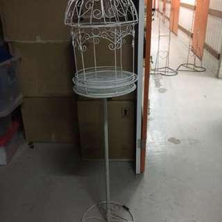 Flower Cage Stand Round