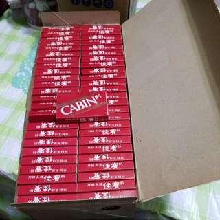 原裝一百盒裝火柴盒