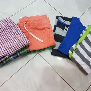 Mix and match wear for boys