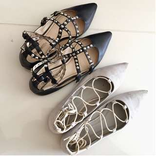 2 for $20 Tie-Up Flats