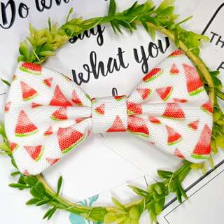 Watermelon Summer fruits Handmade , Dog Cat Bowties Bow tie , Clothing , Accessories , Pet Collars , Bandana,