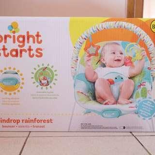 Bouncer Bayi Bright Starts Raindrop Rainforest