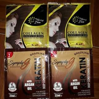 Merry sun collagen & brazillian keratin
