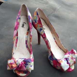 Sepatu Heels Wanita (preloved)