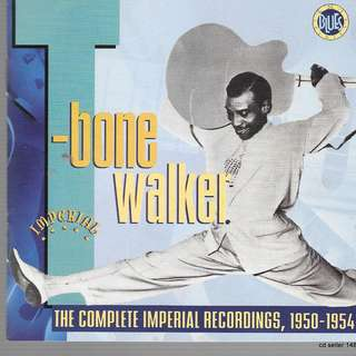 MY CD - T-BONE WALKER-BLUES - THE COMPLETE RECORDING OF  1950-194- RARE.- FREE DELIVERY