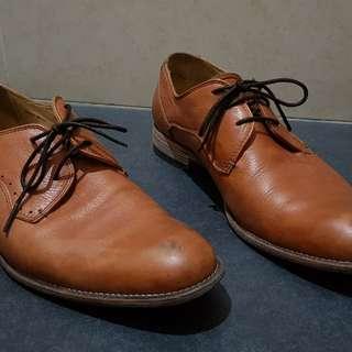 Mario Minardi Tan Leather shoes