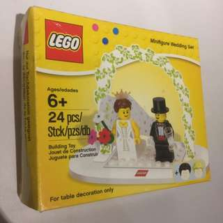 🚚 Lego 結婚Minifigure wedding Set