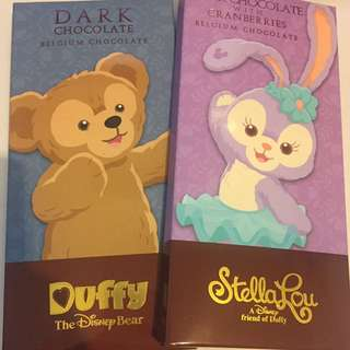 Duffy dark chocolate 朱古力