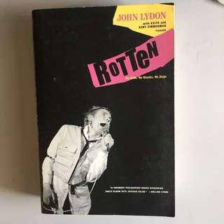 Sex Pistols Johnny Rotten Autobiography