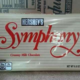 Hershey's Giant Symphony Red