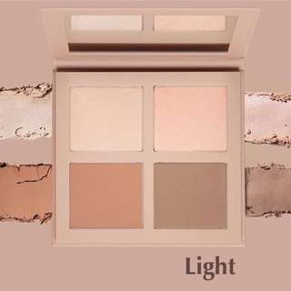 Sale❗️KKW Beauty Powder Contour & Highlighting Kits With Brush LIGHT