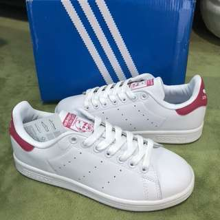 (INSTOCK) Adidas Stan Smith White Pink