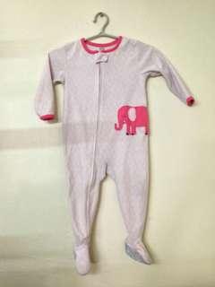 Carter's Onesie Pink Elephant